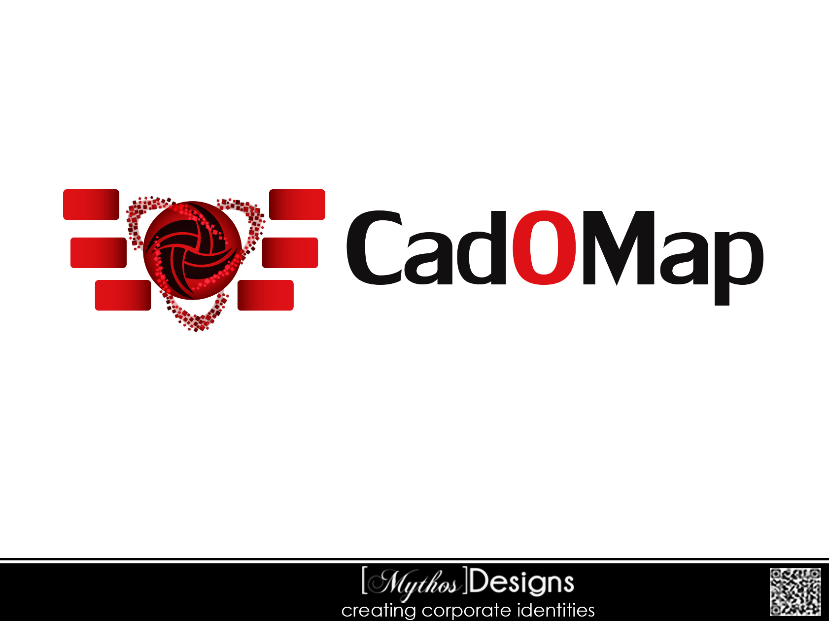 Logo Design by Mythos Designs - Entry No. 49 in the Logo Design Contest Captivating Logo Design for CadOMap software product.