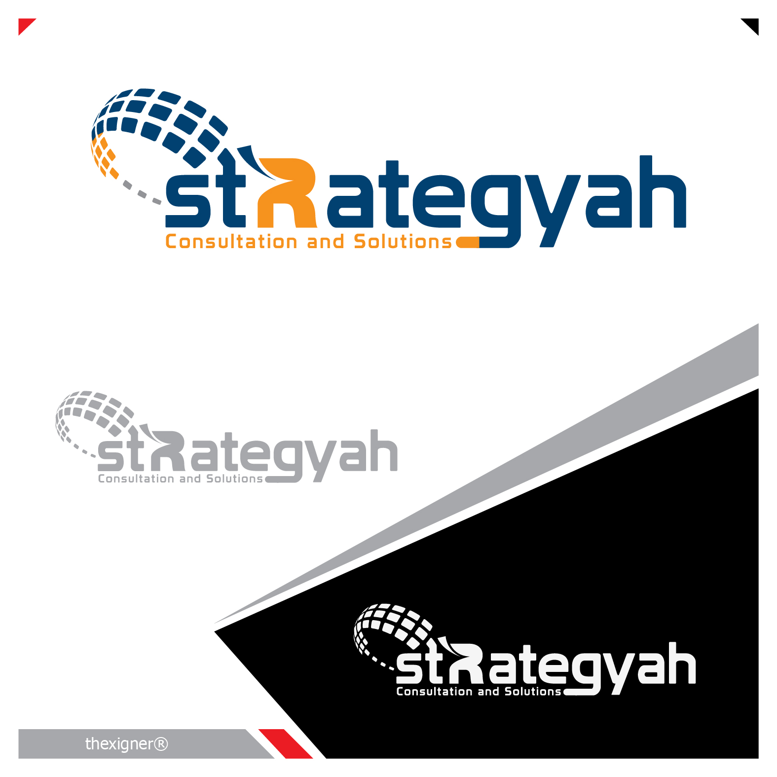 Logo Design by lagalag - Entry No. 155 in the Logo Design Contest Creative Logo Design for Strategyah.