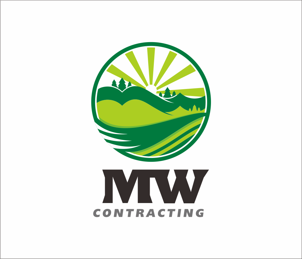 Logo Design by Armada Jamaluddin - Entry No. 91 in the Logo Design Contest Unique Logo Design Wanted for MW Contracting.