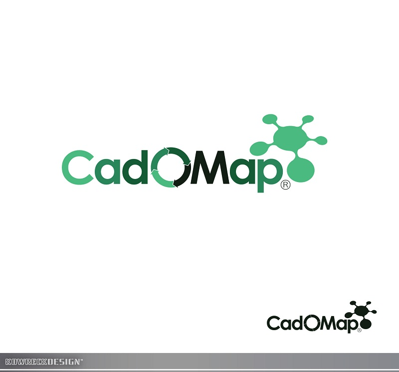 Logo Design by kowreck - Entry No. 53 in the Logo Design Contest Captivating Logo Design for CadOMap software product.