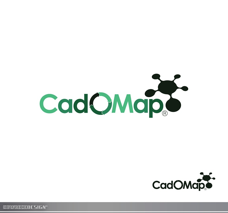Logo Design by kowreck - Entry No. 54 in the Logo Design Contest Captivating Logo Design for CadOMap software product.