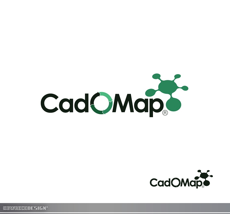 Logo Design by kowreck - Entry No. 55 in the Logo Design Contest Captivating Logo Design for CadOMap software product.