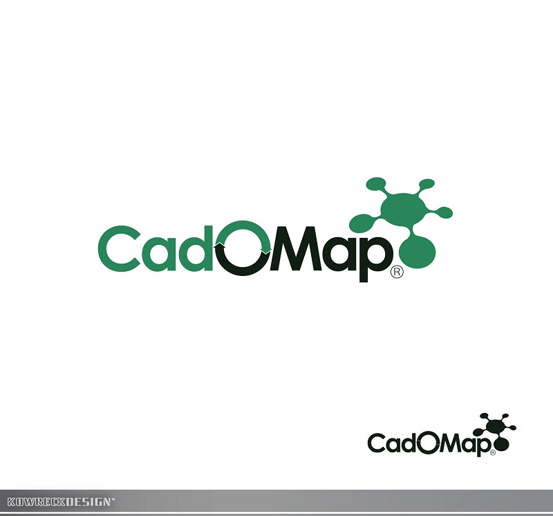 Logo Design by kowreck - Entry No. 56 in the Logo Design Contest Captivating Logo Design for CadOMap software product.