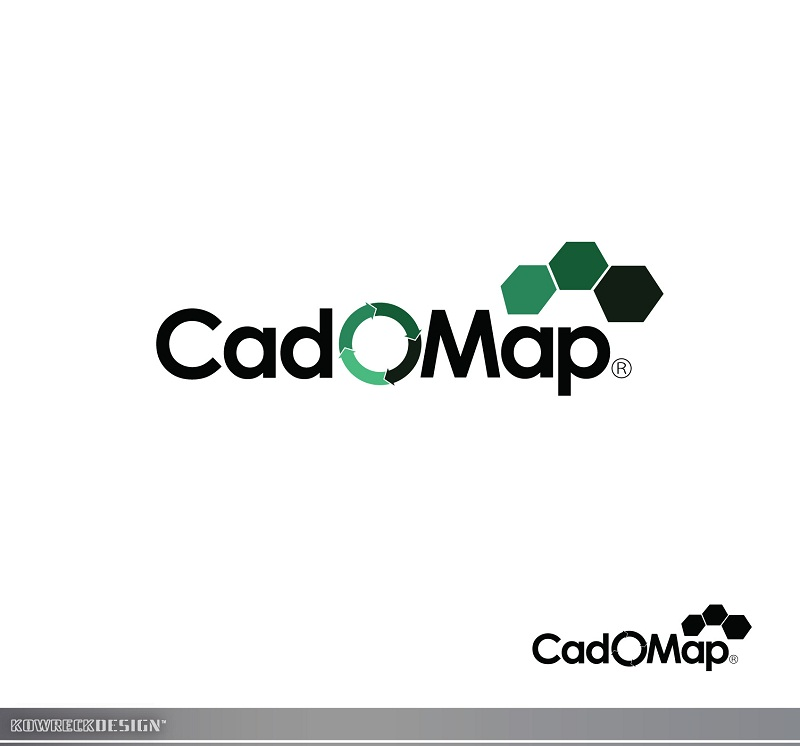 Logo Design by kowreck - Entry No. 57 in the Logo Design Contest Captivating Logo Design for CadOMap software product.
