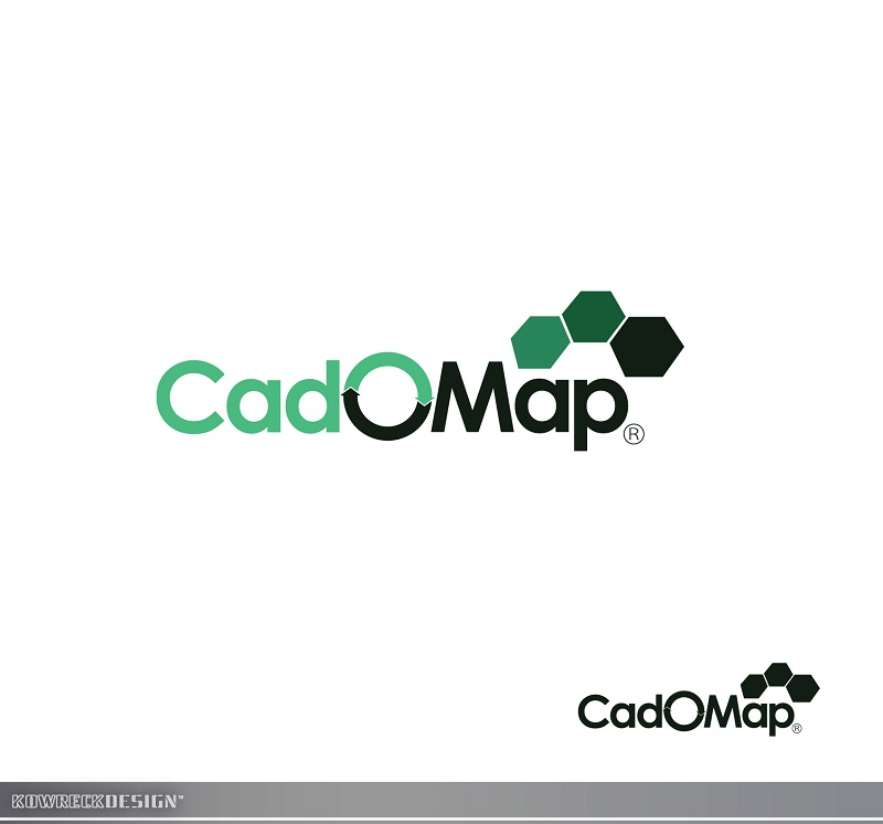 Logo Design by kowreck - Entry No. 58 in the Logo Design Contest Captivating Logo Design for CadOMap software product.