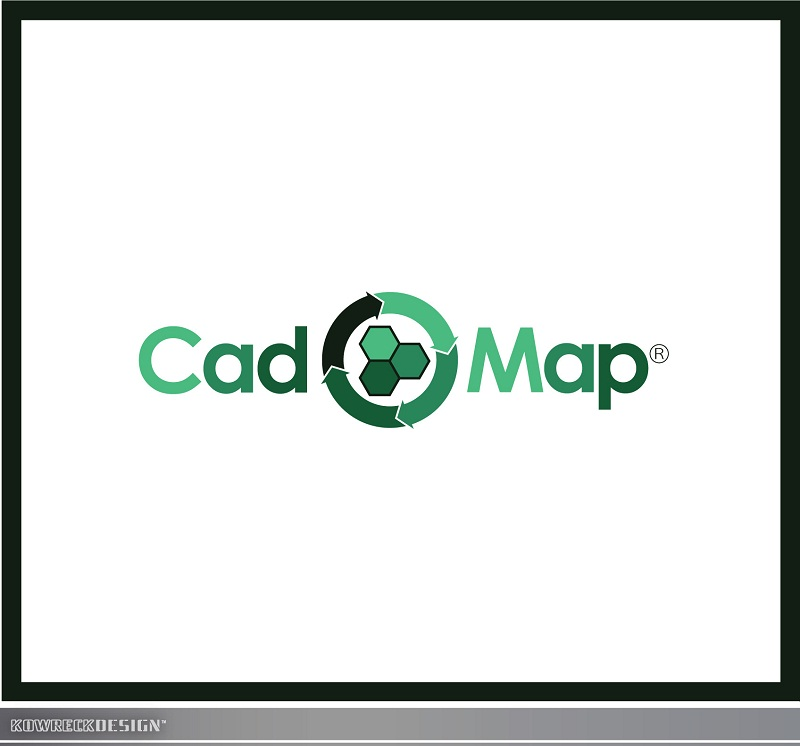 Logo Design by kowreck - Entry No. 59 in the Logo Design Contest Captivating Logo Design for CadOMap software product.