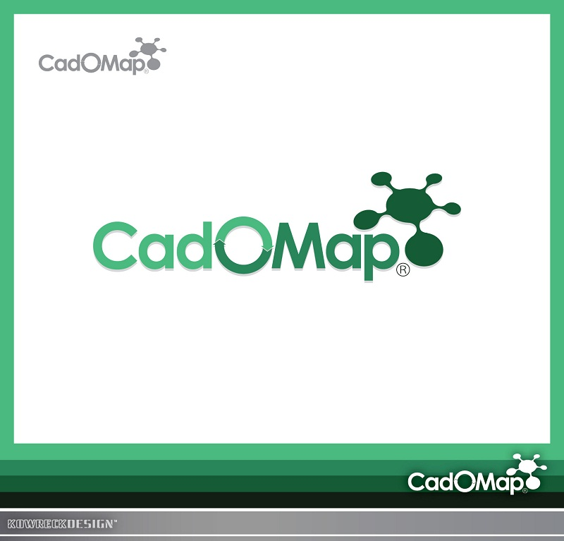 Logo Design by kowreck - Entry No. 61 in the Logo Design Contest Captivating Logo Design for CadOMap software product.