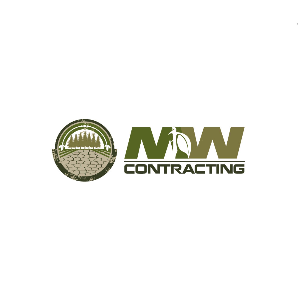 Logo Design by rockin - Entry No. 93 in the Logo Design Contest Unique Logo Design Wanted for MW Contracting.