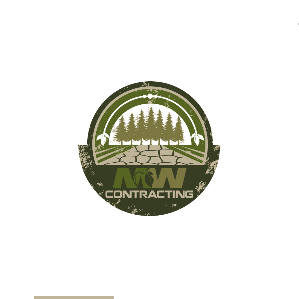 Logo Design by rockin - Entry No. 94 in the Logo Design Contest Unique Logo Design Wanted for MW Contracting.