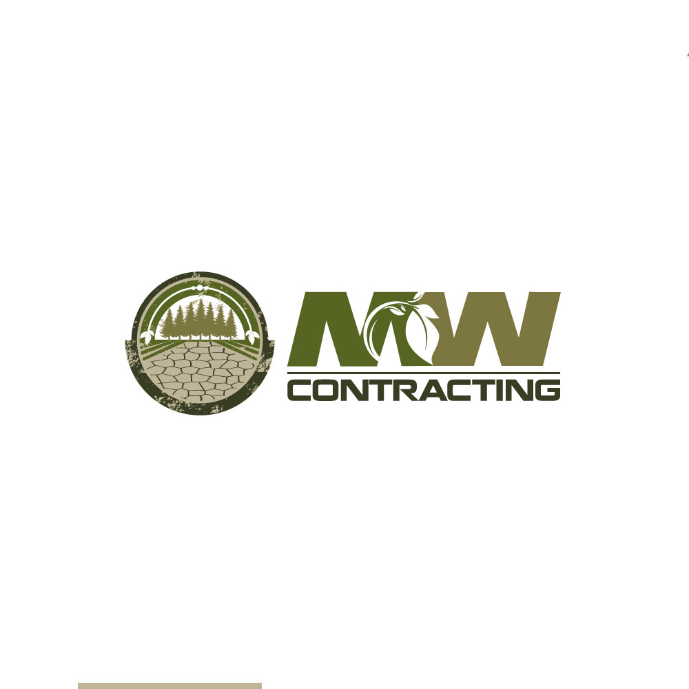 Logo Design by rockin - Entry No. 95 in the Logo Design Contest Unique Logo Design Wanted for MW Contracting.