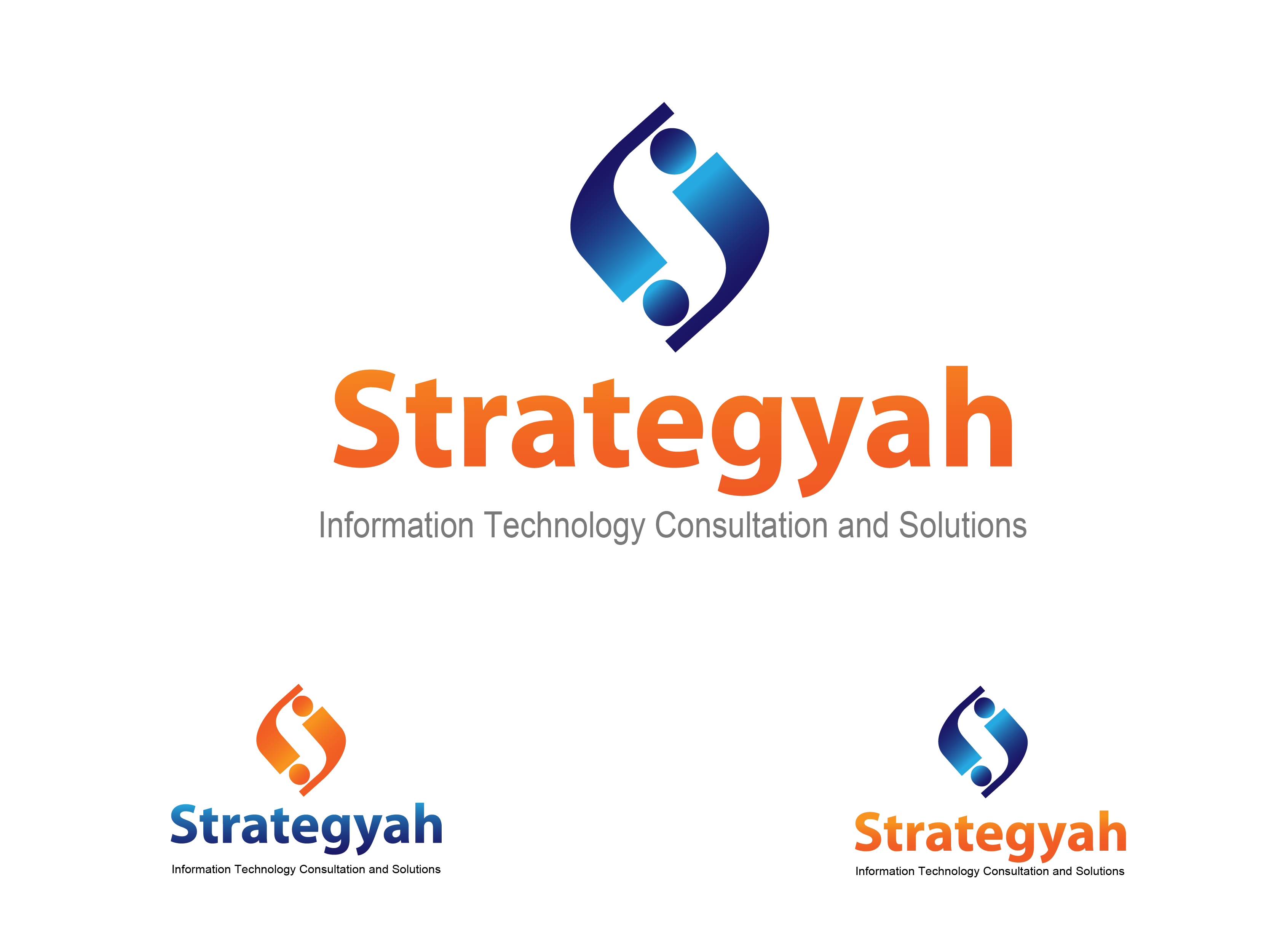Logo Design by Jake Maco - Entry No. 159 in the Logo Design Contest Creative Logo Design for Strategyah.