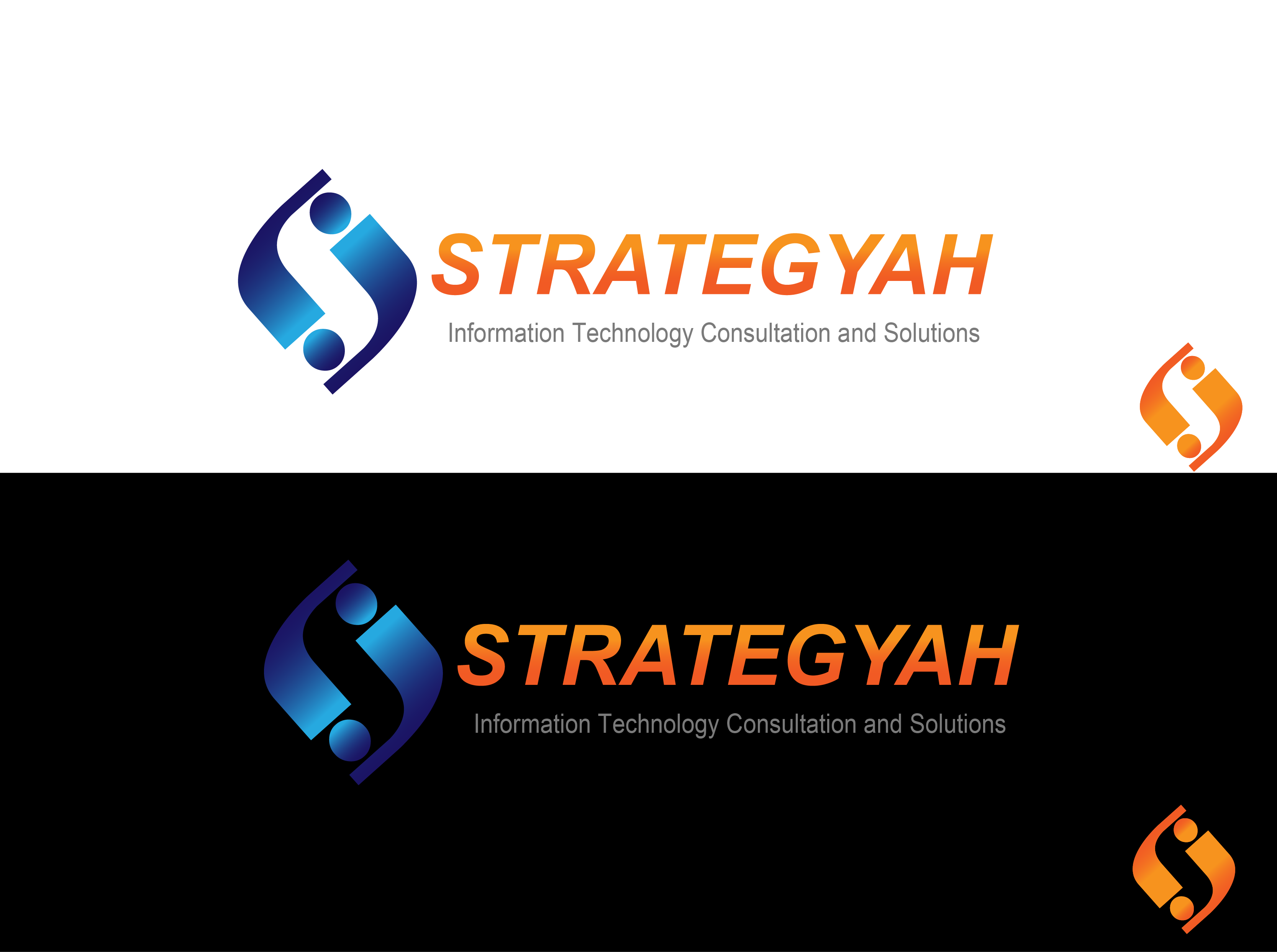 Logo Design by Jake Maco - Entry No. 161 in the Logo Design Contest Creative Logo Design for Strategyah.