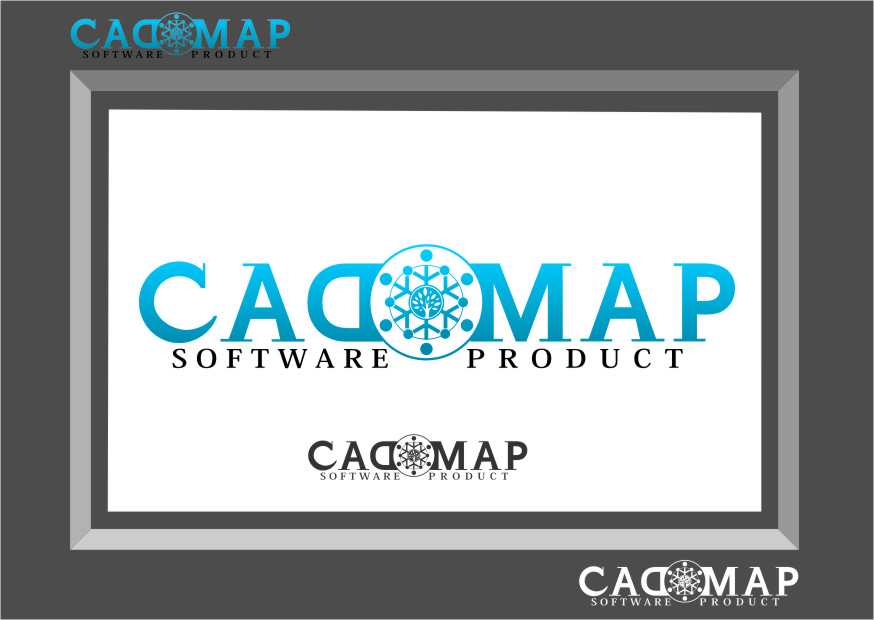Logo Design by Ngepet_art - Entry No. 62 in the Logo Design Contest Captivating Logo Design for CadOMap software product.