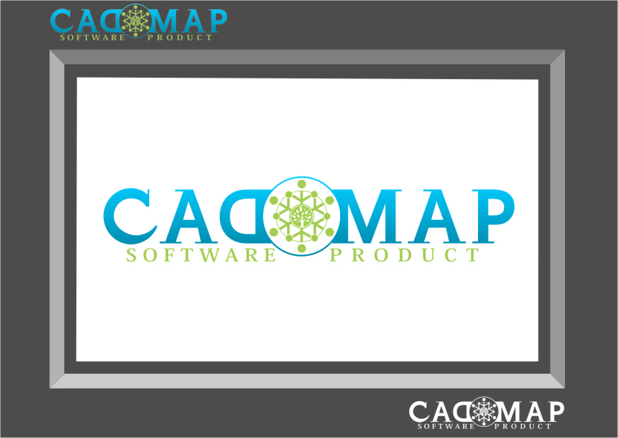 Logo Design by Ngepet_art - Entry No. 63 in the Logo Design Contest Captivating Logo Design for CadOMap software product.