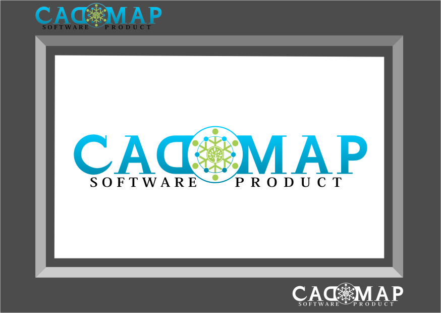 Logo Design by RasYa Muhammad Athaya - Entry No. 64 in the Logo Design Contest Captivating Logo Design for CadOMap software product.