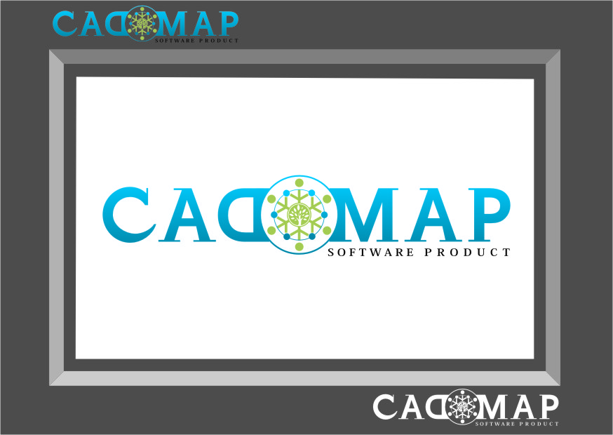 Logo Design by Ngepet_art - Entry No. 65 in the Logo Design Contest Captivating Logo Design for CadOMap software product.