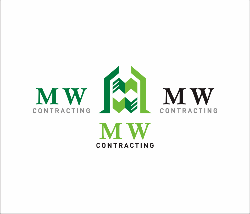 Logo Design by Armada Jamaluddin - Entry No. 99 in the Logo Design Contest Unique Logo Design Wanted for MW Contracting.