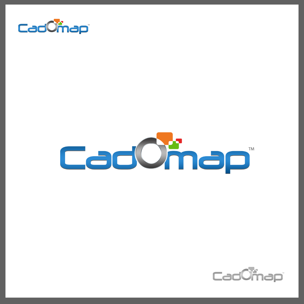 Logo Design by omARTist - Entry No. 73 in the Logo Design Contest Captivating Logo Design for CadOMap software product.