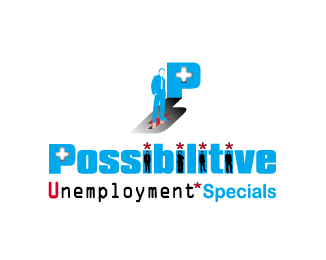 Logo Design by bsmahay - Entry No. 159 in the Logo Design Contest Unemployment Specials / Possibilitive (Possible+Positive).