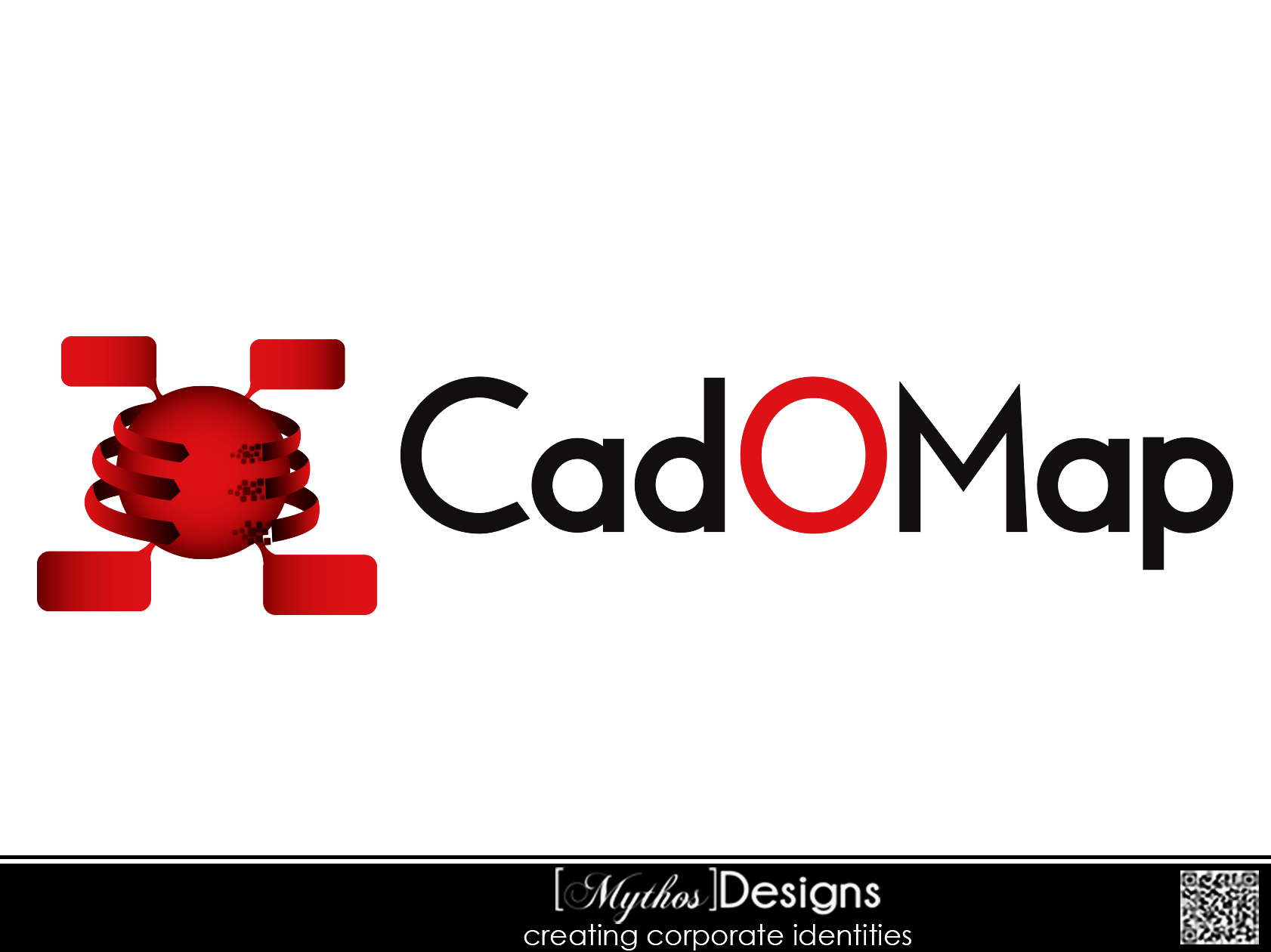 Logo Design by Mythos Designs - Entry No. 75 in the Logo Design Contest Captivating Logo Design for CadOMap software product.
