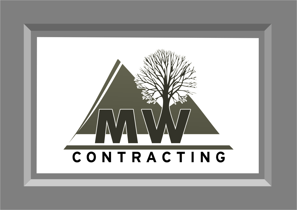 Logo Design by Ngepet_art - Entry No. 103 in the Logo Design Contest Unique Logo Design Wanted for MW Contracting.