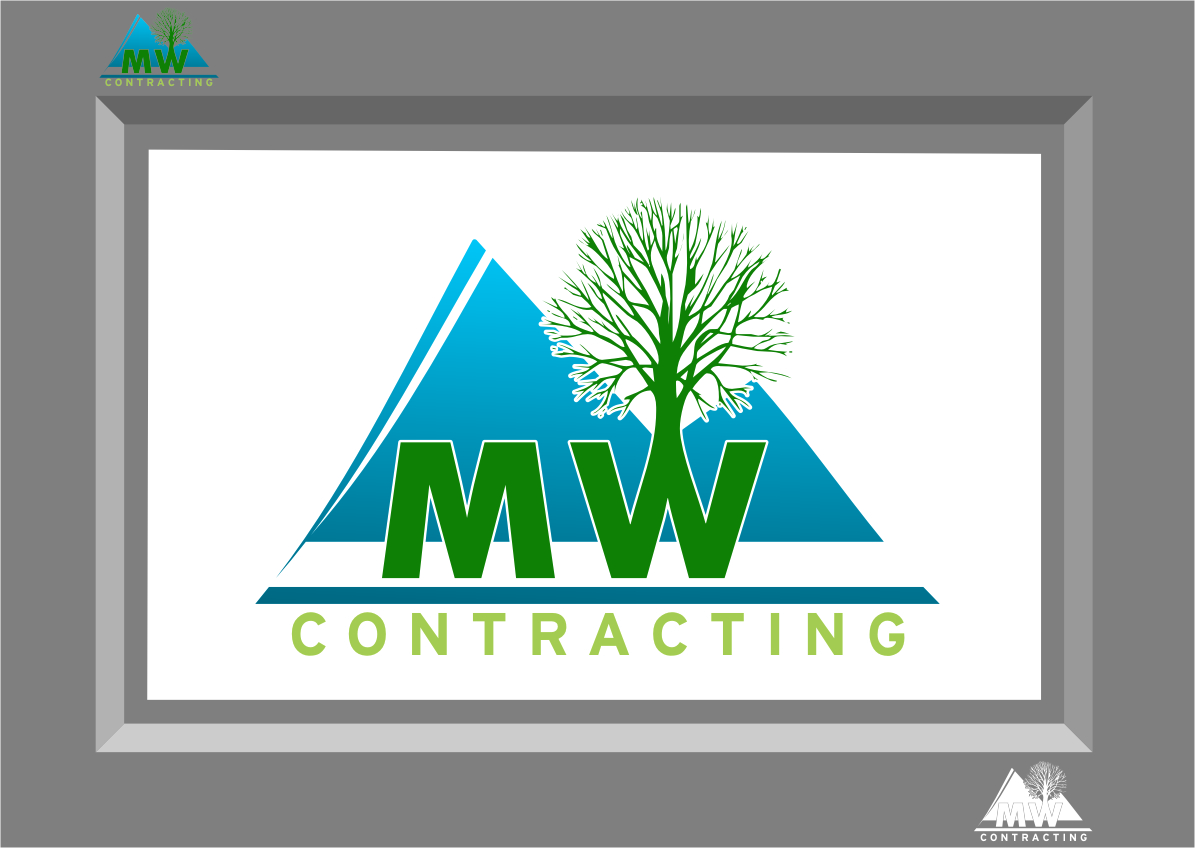 Logo Design by Ngepet_art - Entry No. 104 in the Logo Design Contest Unique Logo Design Wanted for MW Contracting.