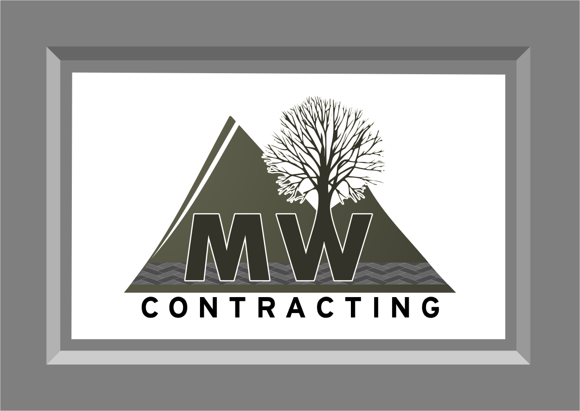 Logo Design by Ngepet_art - Entry No. 105 in the Logo Design Contest Unique Logo Design Wanted for MW Contracting.