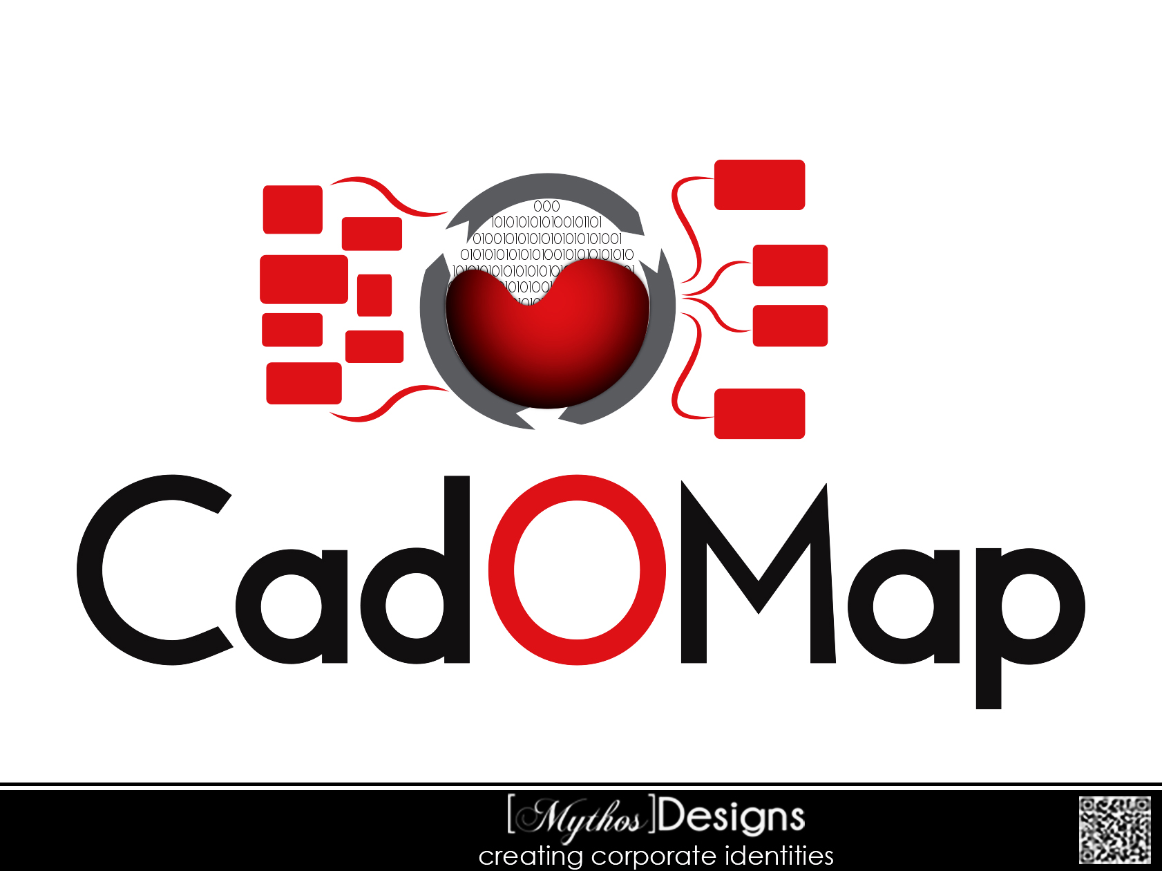 Logo Design by Mythos Designs - Entry No. 79 in the Logo Design Contest Captivating Logo Design for CadOMap software product.
