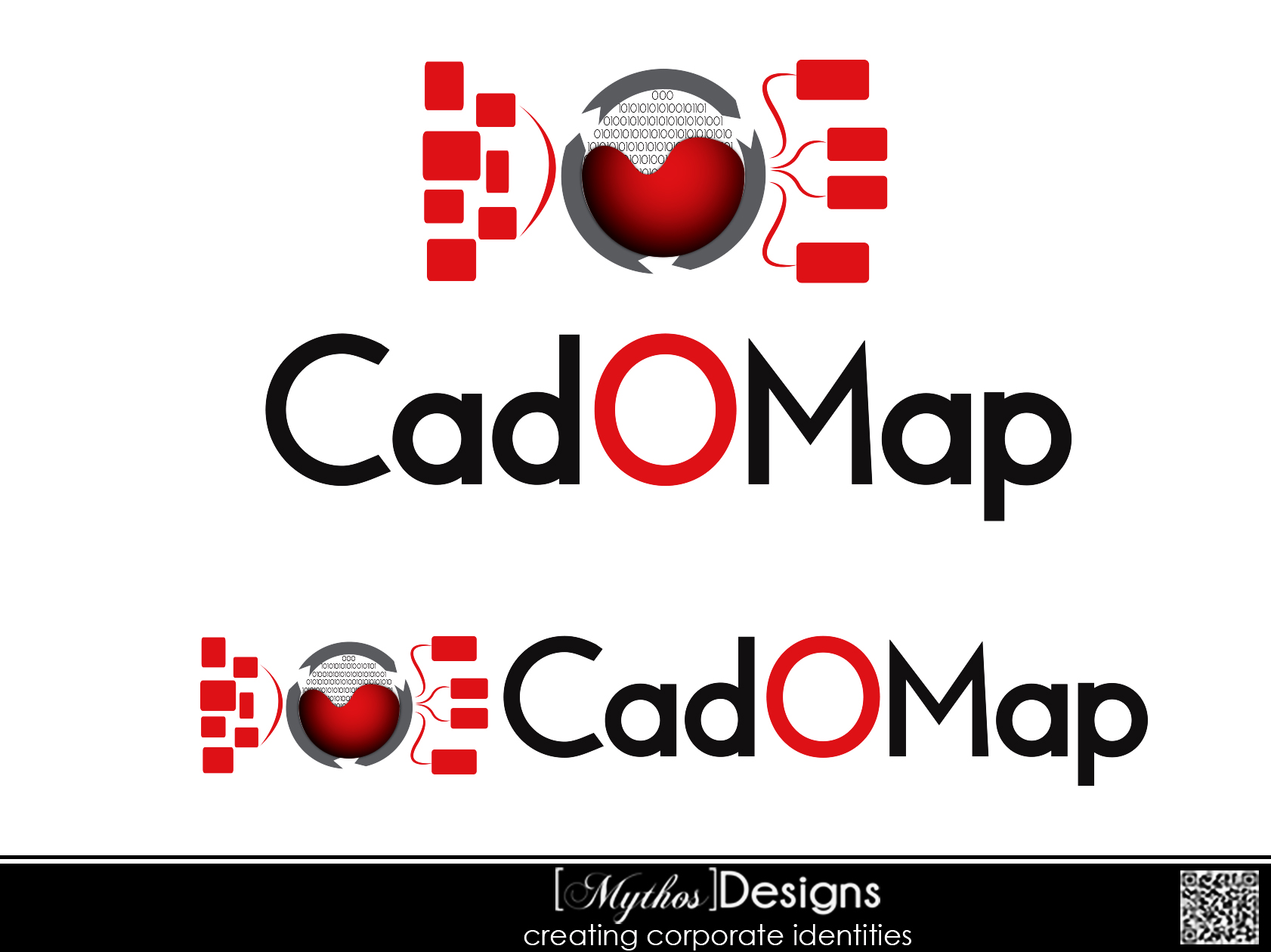 Logo Design by Mythos Designs - Entry No. 80 in the Logo Design Contest Captivating Logo Design for CadOMap software product.