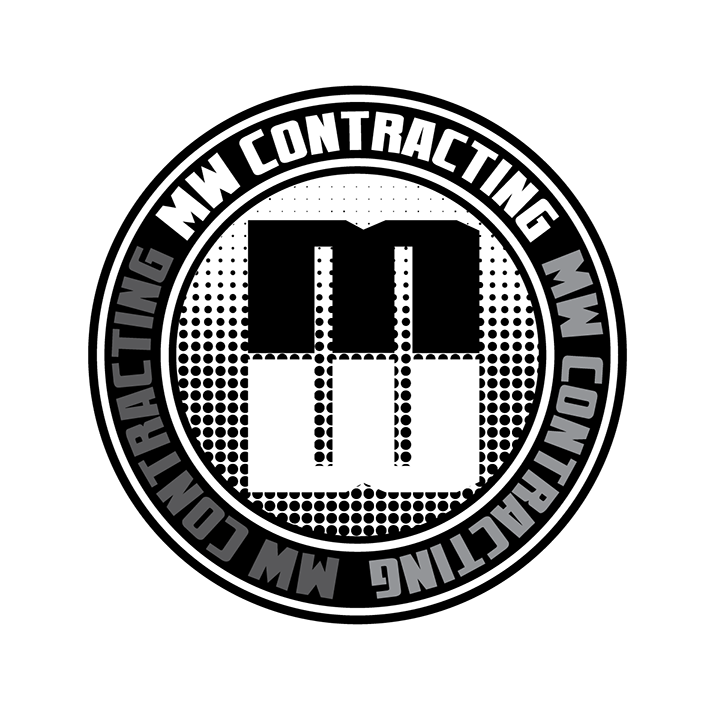 Logo Design by robken0174 - Entry No. 110 in the Logo Design Contest Unique Logo Design Wanted for MW Contracting.