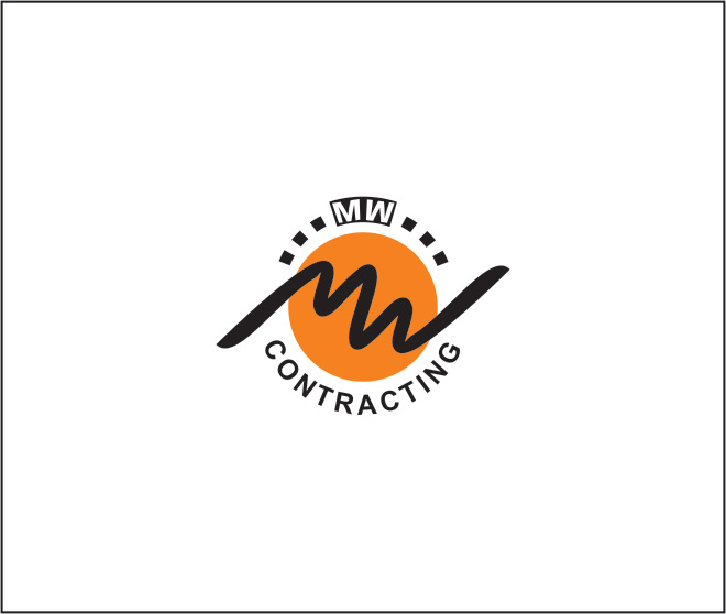 Logo Design by Rai - Entry No. 114 in the Logo Design Contest Unique Logo Design Wanted for MW Contracting.