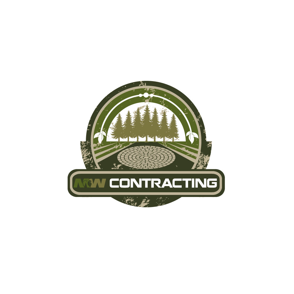 Logo Design by rockin - Entry No. 115 in the Logo Design Contest Unique Logo Design Wanted for MW Contracting.