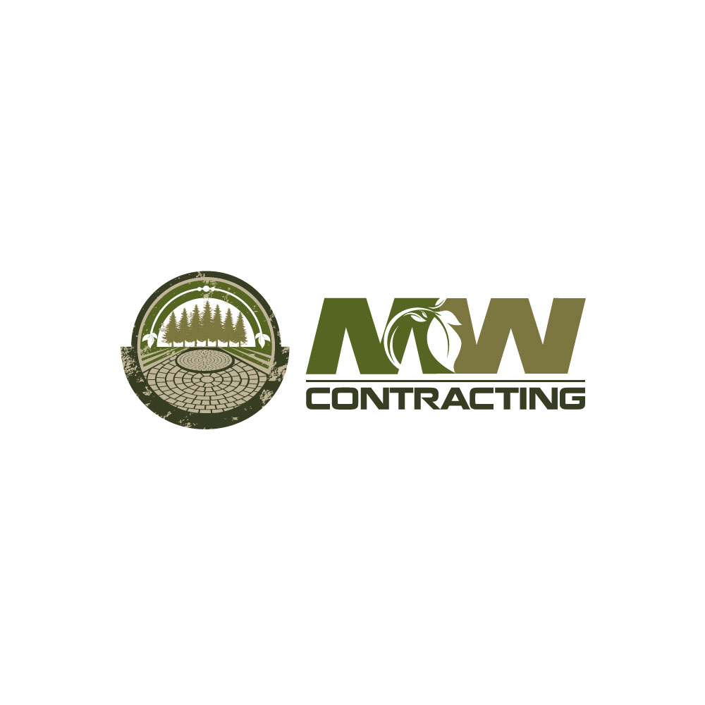 Logo Design by rockin - Entry No. 116 in the Logo Design Contest Unique Logo Design Wanted for MW Contracting.