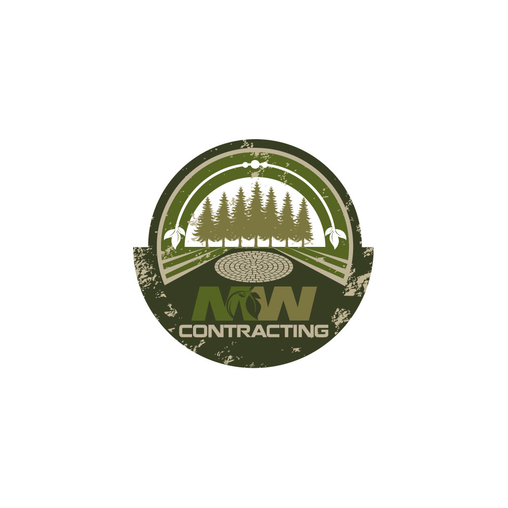 Logo Design by rockin - Entry No. 117 in the Logo Design Contest Unique Logo Design Wanted for MW Contracting.