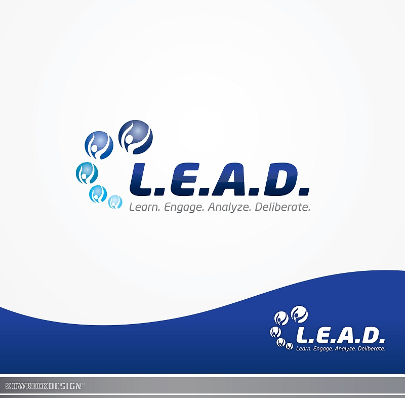 Logo Design by kowreck - Entry No. 6 in the Logo Design Contest L.E.A.D. (learn, engage, analyze, deliberate) Logo Design.