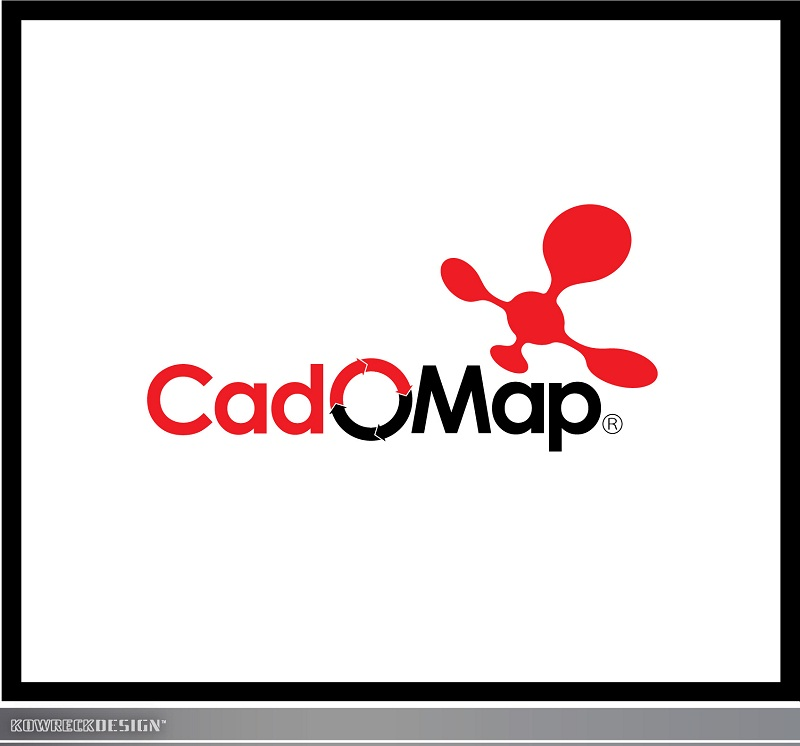 Logo Design by kowreck - Entry No. 82 in the Logo Design Contest Captivating Logo Design for CadOMap software product.