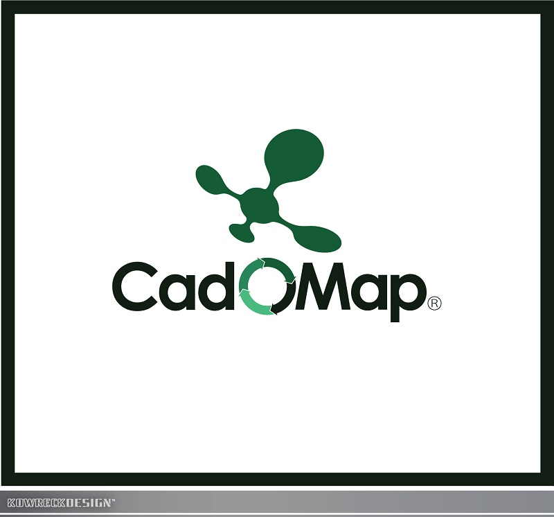 Logo Design by kowreck - Entry No. 83 in the Logo Design Contest Captivating Logo Design for CadOMap software product.
