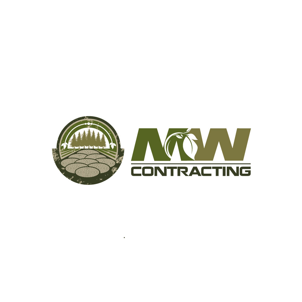 Logo Design by rockin - Entry No. 124 in the Logo Design Contest Unique Logo Design Wanted for MW Contracting.
