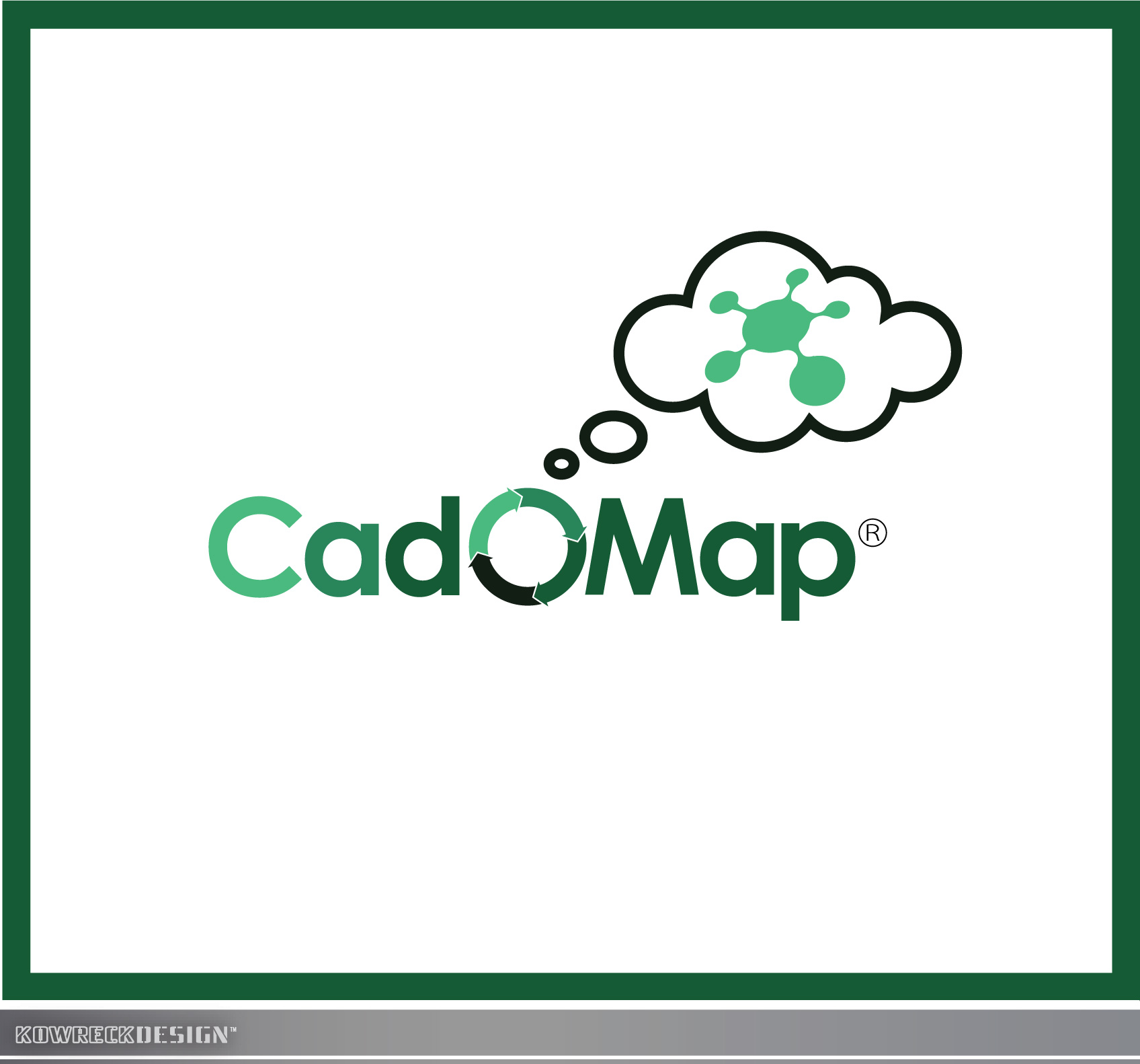 Logo Design by kowreck - Entry No. 84 in the Logo Design Contest Captivating Logo Design for CadOMap software product.