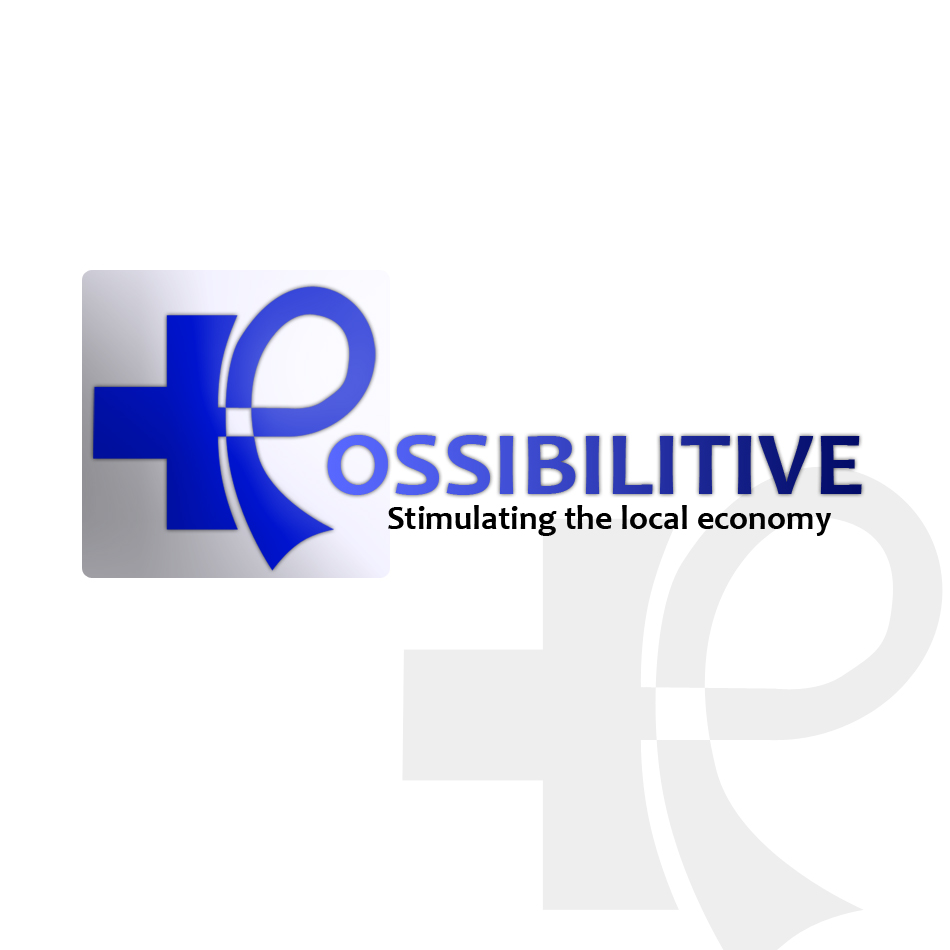 Logo Design by Renier  Bajala - Entry No. 162 in the Logo Design Contest Unemployment Specials / Possibilitive (Possible+Positive).