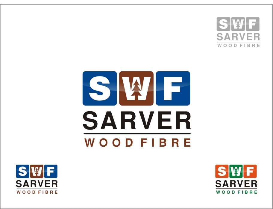 Logo Design by RED HORSE design studio - Entry No. 52 in the Logo Design Contest Creative Logo Design for Sarver Wood Fibre..