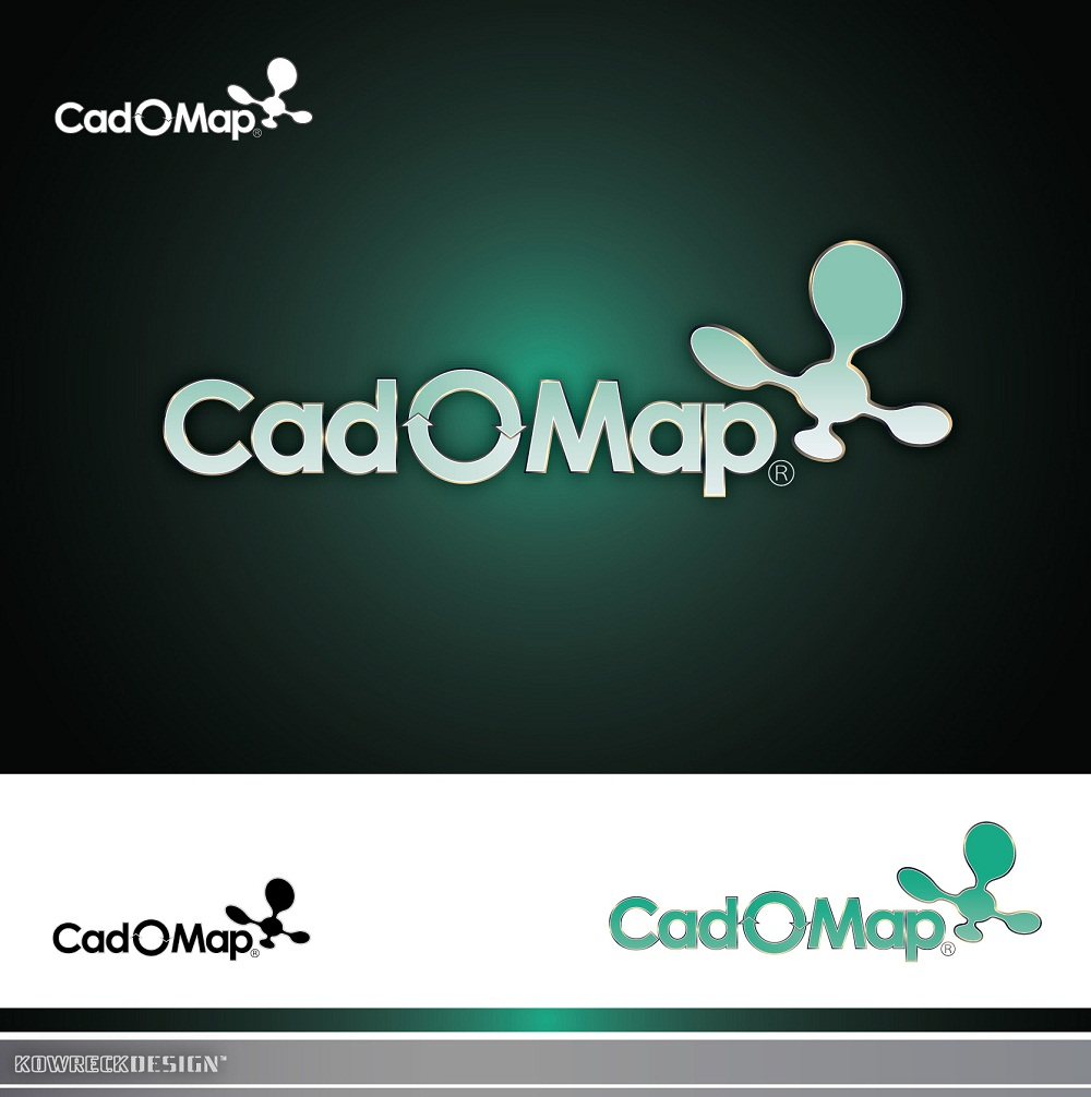 Logo Design by kowreck - Entry No. 86 in the Logo Design Contest Captivating Logo Design for CadOMap software product.