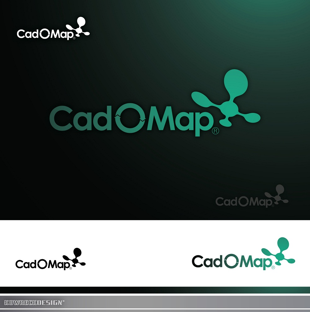 Logo Design by kowreck - Entry No. 87 in the Logo Design Contest Captivating Logo Design for CadOMap software product.