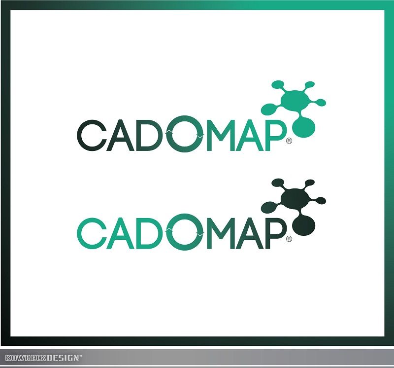 Logo Design by kowreck - Entry No. 89 in the Logo Design Contest Captivating Logo Design for CadOMap software product.
