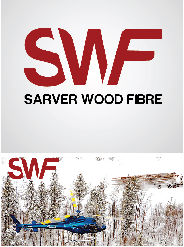 Logo Design by gkonta - Entry No. 57 in the Logo Design Contest Creative Logo Design for Sarver Wood Fibre..