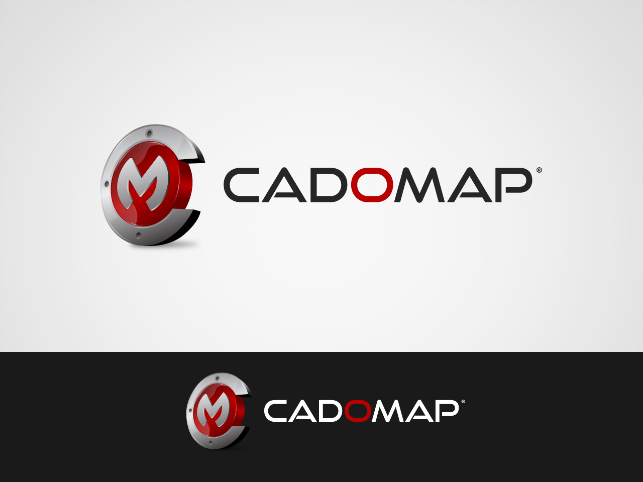Logo Design by jpbituin - Entry No. 96 in the Logo Design Contest Captivating Logo Design for CadOMap software product.