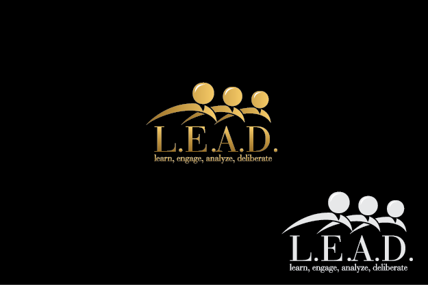 Logo Design by Digital Designs - Entry No. 17 in the Logo Design Contest L.E.A.D. (learn, engage, analyze, deliberate) Logo Design.