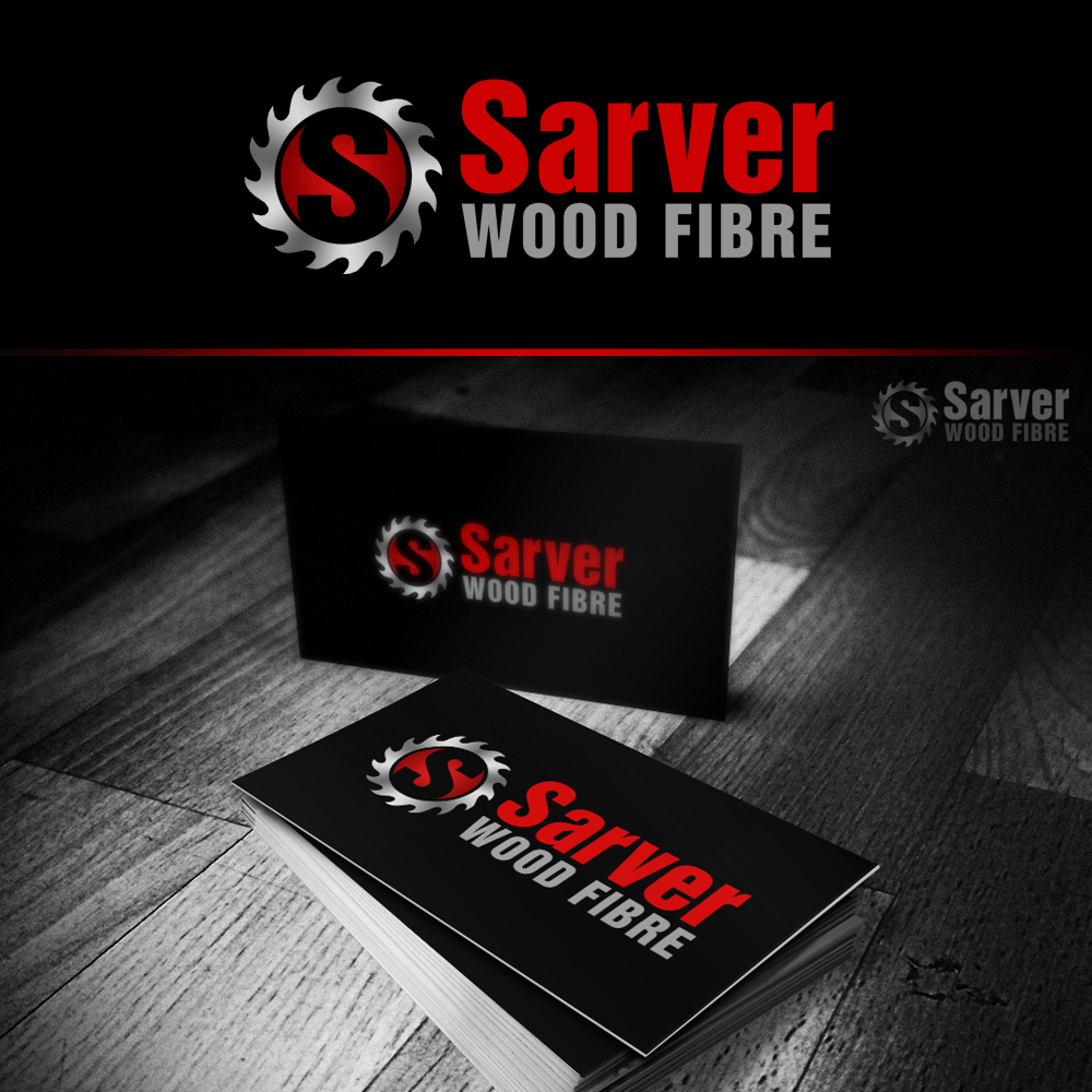 Logo Design by omARTist - Entry No. 61 in the Logo Design Contest Creative Logo Design for Sarver Wood Fibre..