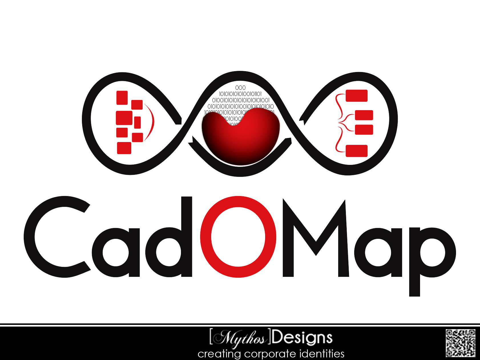 Logo Design by Mythos Designs - Entry No. 98 in the Logo Design Contest Captivating Logo Design for CadOMap software product.