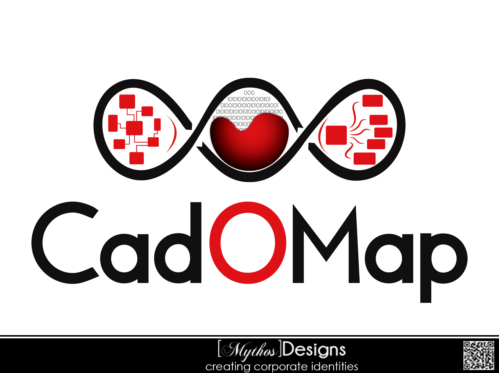Logo Design by Mythos Designs - Entry No. 100 in the Logo Design Contest Captivating Logo Design for CadOMap software product.